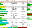 calendrier K