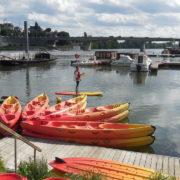 CKCA Location Cale de la Savatte Kayak et Stand Up Paddle Maine Port Angers