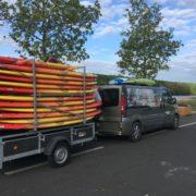 Transport paddle Soleil RTM