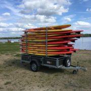 Remorque paddle Soleil RTM